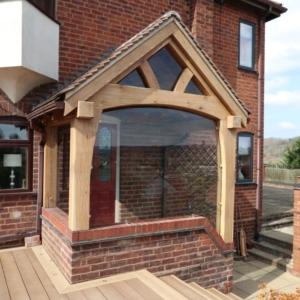 oak porch - Shropshire