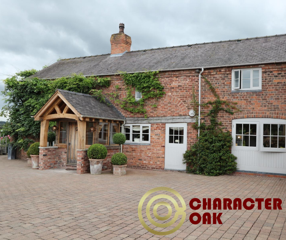 enclosed oak porch - Cheshire