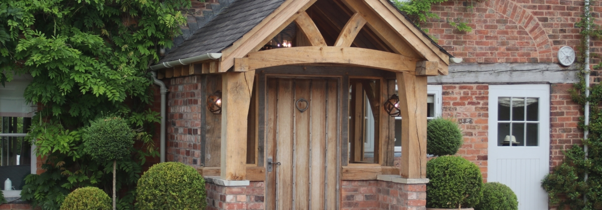 enclosed oak porch - Cheshire