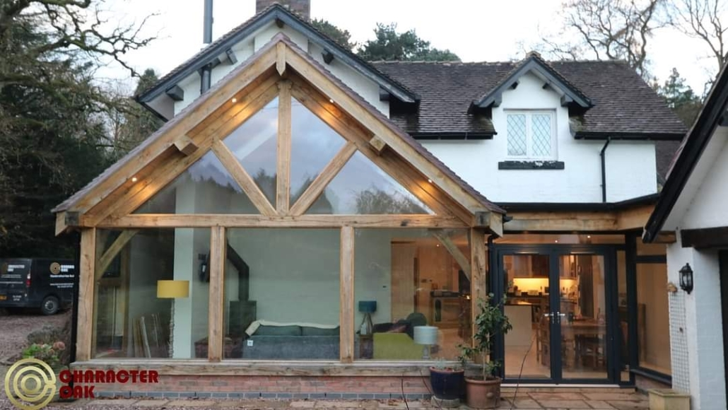oak framed extensions